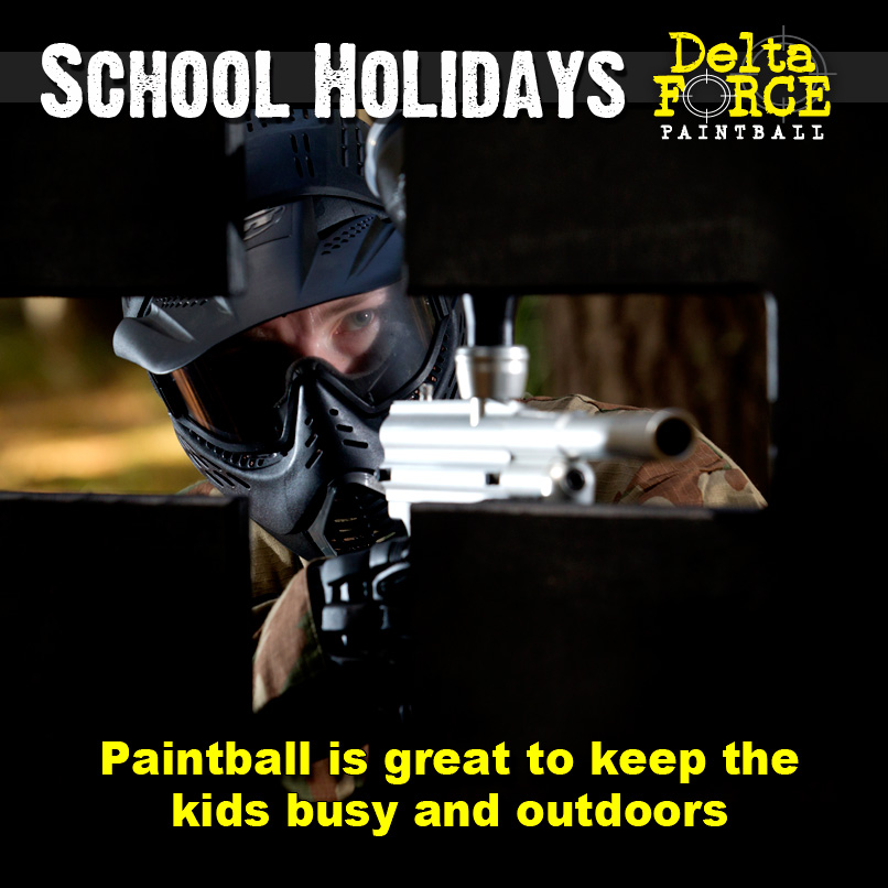 Paintball School Holidays