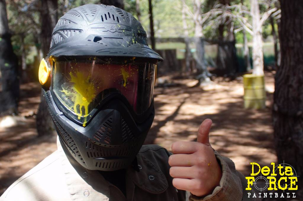 Thumbs Up - Paintball