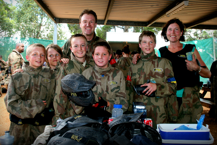 mothers day paintball